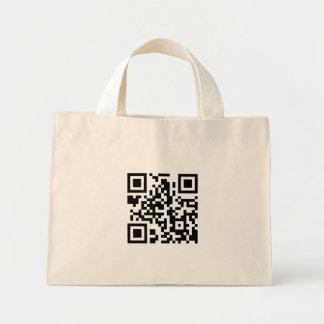 La bolsa de asas del código de QR