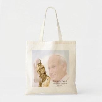 La bolsa de asas del collage de Juan Pablo II