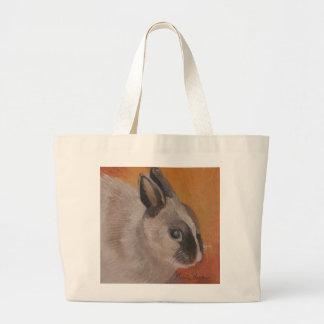 La bolsa de asas del conejito de pascua de Marie T