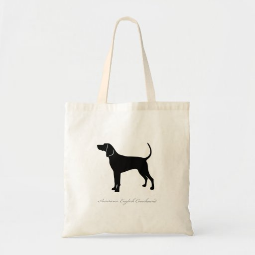 La bolsa de asas del Coonhound del inglés american
