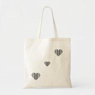 La bolsa de asas del corazón del amor de la clave