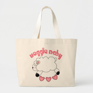 La bolsa de asas del cordero del bebé del Veggie p