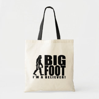 La bolsa de asas del creyente de Bigfoot