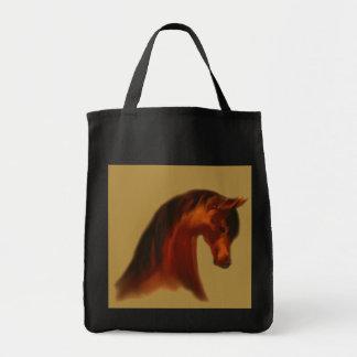 La bolsa de asas del ~ de la yegua de la bahía