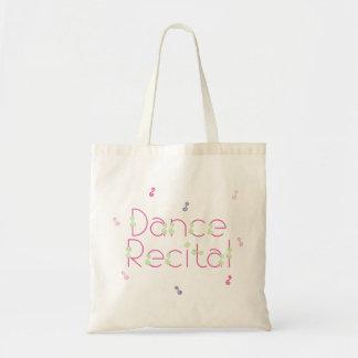 La bolsa de asas del decreto de la danza