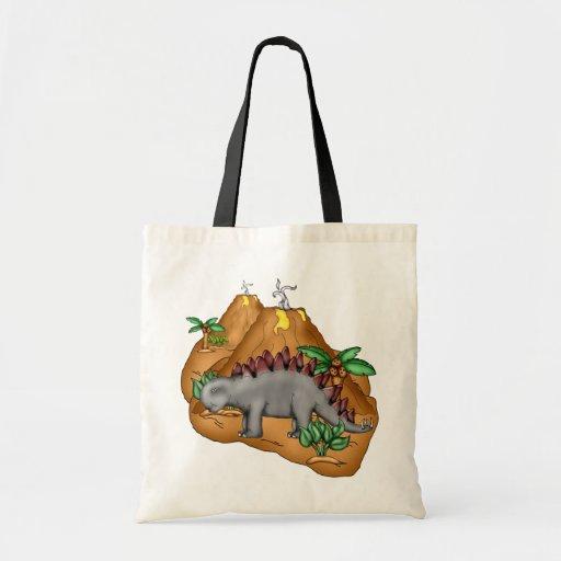 La bolsa de asas del dinosaurio