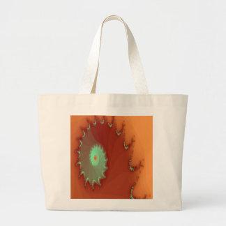 La bolsa de asas del diseño del fractal