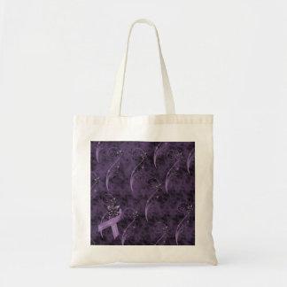 La bolsa de asas del diseño gráfico del Fibromyalg