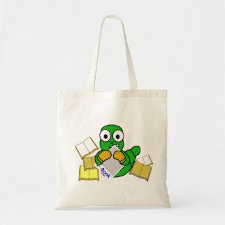 La bolsa de asas del eBook del ratón de biblioteca