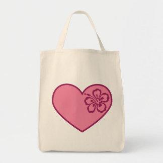 La bolsa de asas del el día de San Valentín de la