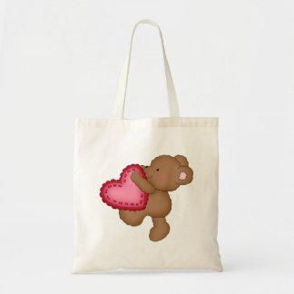 La bolsa de asas del el día de San Valentín de los
