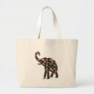 La bolsa de asas del elefante del Hippie