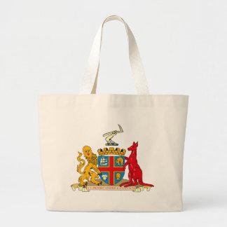 La bolsa de asas del escudo de armas de Adelaide