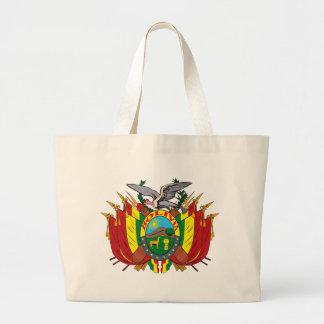 La bolsa de asas del escudo de armas de Bolivia
