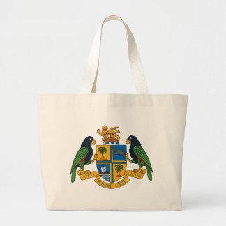 La bolsa de asas del escudo de armas de Dominica