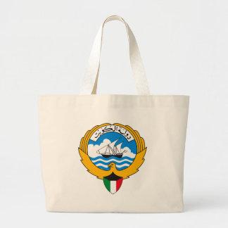 La bolsa de asas del escudo de armas de Kuwait