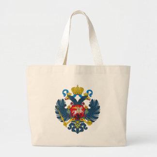La bolsa de asas del escudo de armas de Rusia (sig