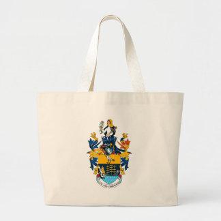 La bolsa de asas del escudo de armas de St. Helena