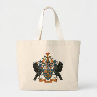 La bolsa de asas del escudo de armas de St Lucia