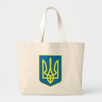 La bolsa de asas del escudo de armas de Ucrania
