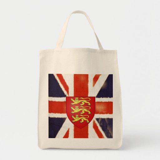 La bolsa de asas del escudo de armas de Union Jack