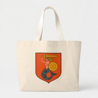 La bolsa de asas del escudo de armas de Varsovia