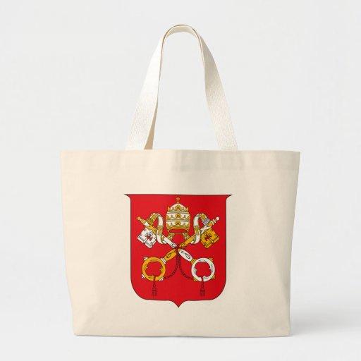 La bolsa de asas del escudo de armas de Vatican