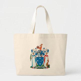 La bolsa de asas del escudo de armas de Victoria