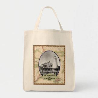 La bolsa de asas del faro de Pontchartrain del pue