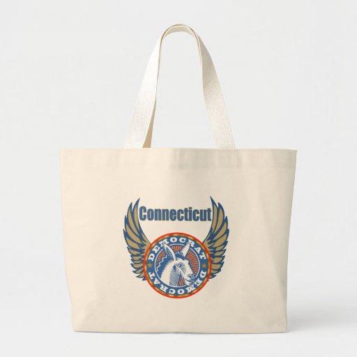 La bolsa de asas del fiesta de Connecticut Demócra