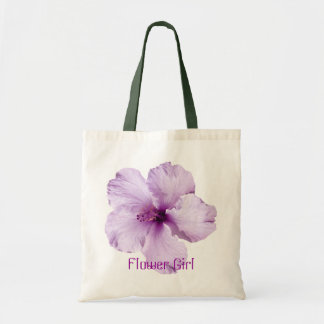La bolsa de asas del florista del hibisco de la