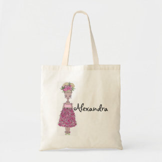 La bolsa de asas del florista - personalice a Alex