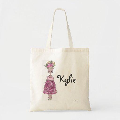 La bolsa de asas del florista - personalizada - Ky