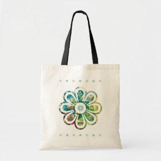 la bolsa de asas del flower power