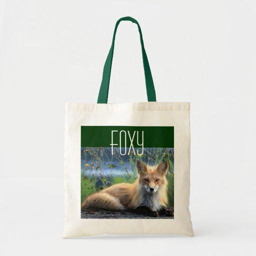 La bolsa de asas del Fox rojo