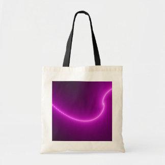 La bolsa de asas del fractal de la descarga eléctr