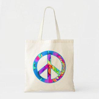 La bolsa de asas del fractal del signo de la paz