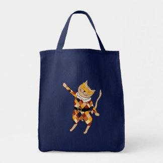 La bolsa de asas del gatito del Harlequin del bail