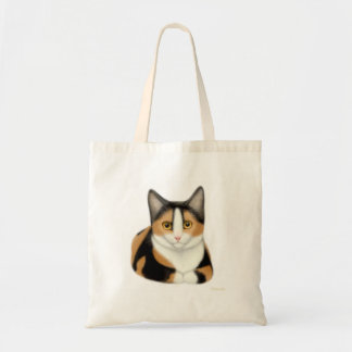La bolsa de asas del gato de calicó