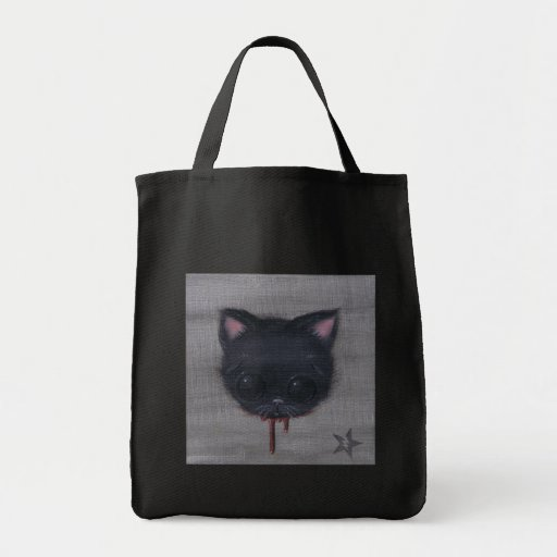 la bolsa de asas del gato de la sangría
