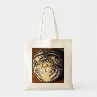 La bolsa de asas del gato de Tabby