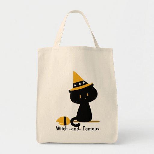 La bolsa de asas del gato de Witchy