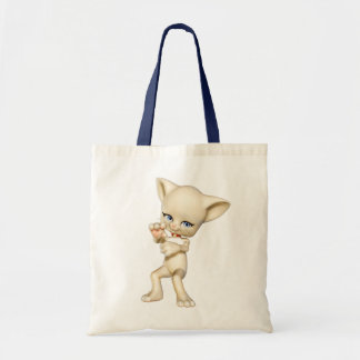 La bolsa de asas del gato del baile