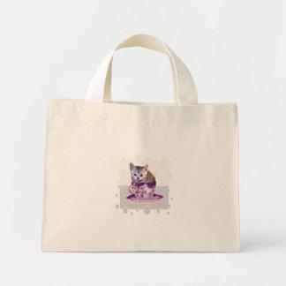 la bolsa de asas del gato del cafeína