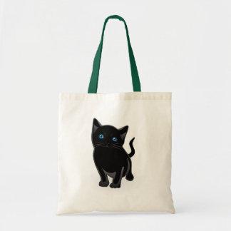 La bolsa de asas del gato negro