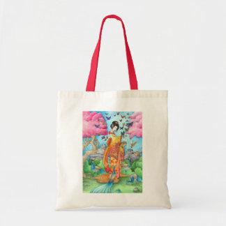 La bolsa de asas del geisha de Maiko del verano, p