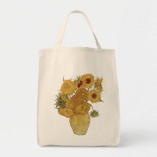La bolsa de asas del girasol de Vincent van Gogh