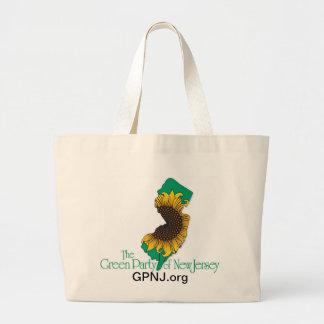 La bolsa de asas del GPNJ-Logotipo con el Web site