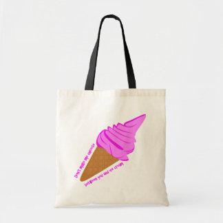 La bolsa de asas del helado - favores de fiesta