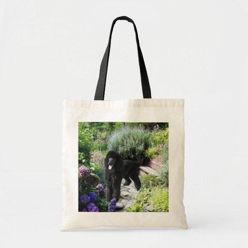 La bolsa de asas del jardín del caniche